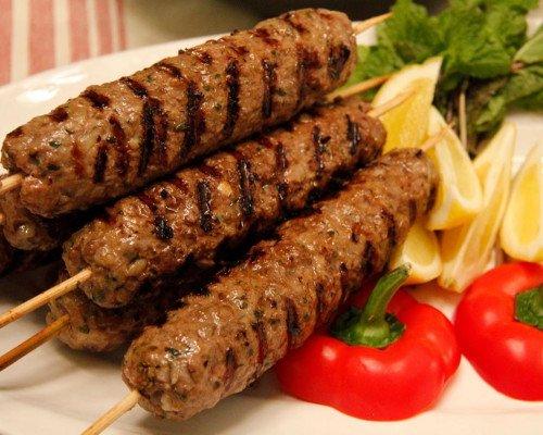 Lyulya or Lule Kebab